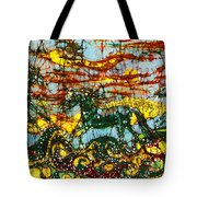 Horses Frolic Above The Sea Tote Bag