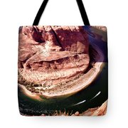 Horseshoe Bend Boat Race - Page Arizona Tote Bag