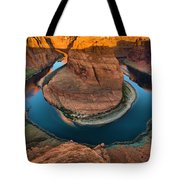 Horseshoe Bend In The Morning Tote Bag
