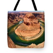 Horseshoe Bend - Nature's Awesome Work Tote Bag