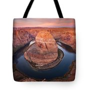 Horseshoe Dawn Tote Bag