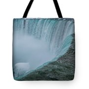 Horseshoe Falls Ice Formations Tote Bag