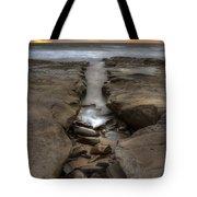 Horseshoes Beach Tidepools Tote Bag
