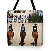 Horseshow Pano Tote Bag