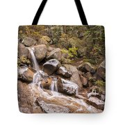 Horsethief Falls - Cripple Creek Colorado Tote Bag