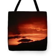 Horsetooth Sunset Tote Bag