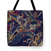 Host Of Angels By Jrr Tote Bag