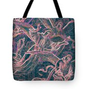 Host Of Angels Pink Tote Bag