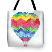 Hot Air Balloon 02 Tote Bag