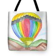 Hot Air Balloon 03 Tote Bag
