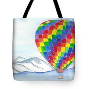 Hot Air Balloon 04 Tote Bag