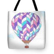 Hot Air Balloon 06 Tote Bag