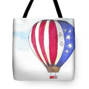 Hot Air Balloon 07 Tote Bag