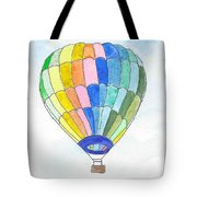 Hot Air Balloon 08 Tote Bag