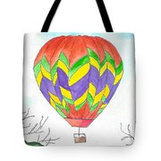 Hot Air Balloon 10 Tote Bag