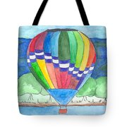 Hot Air Balloon 11 Tote Bag