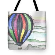 Hot Air Balloon 12 Tote Bag