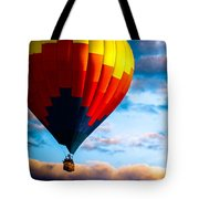 Hot Air Balloon And Powered Parachute Tote Bag by Bob Orsillo