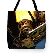 Hot Air Balloon Burner Tote Bag