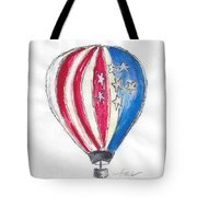 Hot Air Balloon Misc 01 Tote Bag