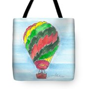 Hot Air Balloon Misc 03 Tote Bag