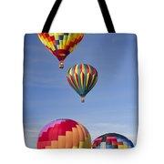 Hot Air Balloon Race Tote Bag