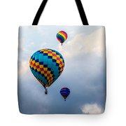Hot Air Balloon Trio Tote Bag