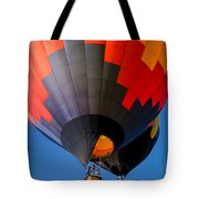 Hot Air Ballooning Tote Bag by Edward Fielding
