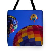 Hot Air Balloons Launch Tote Bag