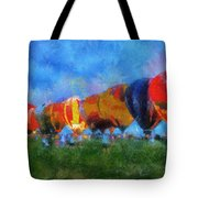 Hot Air Balloons Photo Art 01 Tote Bag