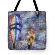 Hot Air Balloons Photo Art 02 Tote Bag