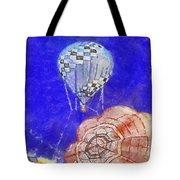 Hot Air Balloons Photo Art 04 Tote Bag