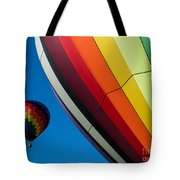 Hot Air Balloons Quechee Vermont Tote Bag