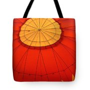 Hot Air Balloon At Dawn Tote Bag
