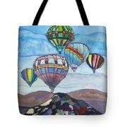 Hot Air Baloons Tote Bag