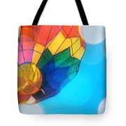 Hot Air Bokeh Tote Bag