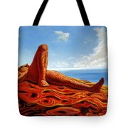 Hot As The Sun Tote Bag