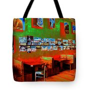 Hot Bar-glow Tote Bag