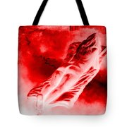 Hot-blooded Hottie On A Sexual Journey Tote Bag