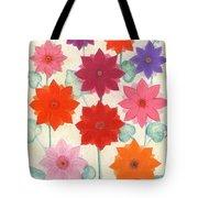 Hot Bloom Tote Bag