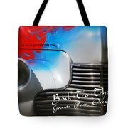 Hot Chevy Poster And Postcard Tote Bag