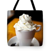 Hot Chocolate With Creme Chantilly Tote Bag