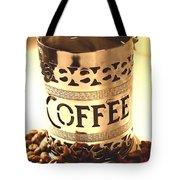 Hot Coffee Tote Bag