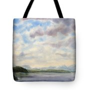 Hot Day In The Rockies Tote Bag