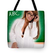Hot For Teacher Tote Bag