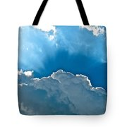 Hot Italian Clouds Tote Bag