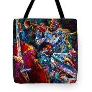 Hot Jazz Tote Bag