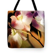Hot Orchid Nights Tote Bag