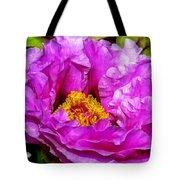 Hot-pink Flower Tote Bag