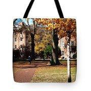Hot Pink Hoodie - Davidson College Tote Bag